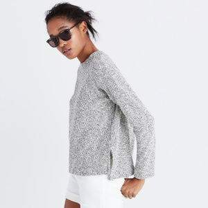 Madewell Mable Mock Neck Sweater
